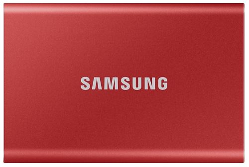 Disque SSD Externe Samsung Portable T7 1 To USB 3.2 Rouge...