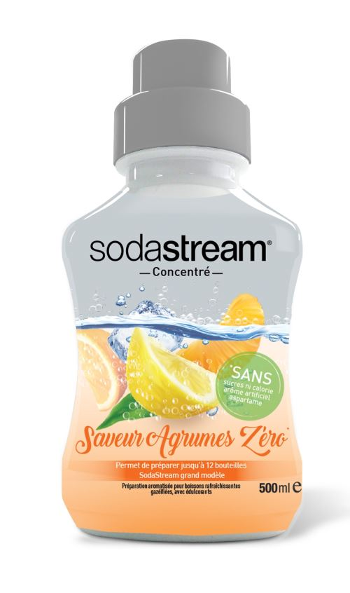 Concentre Agrumes Zéro Sodastream 500ml