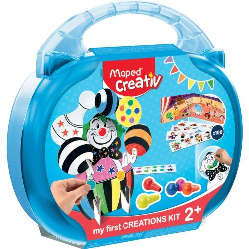 Coffret Maped Mon Premier Kit Creatif Gommettes Et Coloriage Kit Loisir Creatif Achat Prix Fnac