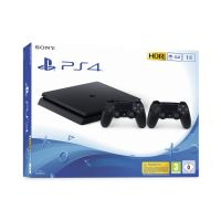 PS4 SLIM 1TB STAND ALONE + 2 CONTROLERS