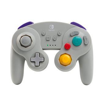Manette Nintendo Switch Bd&A GameCube sans fil Gris