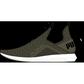 Chaussures Puma Mega NRGY Knit Vert kaki Taille 41