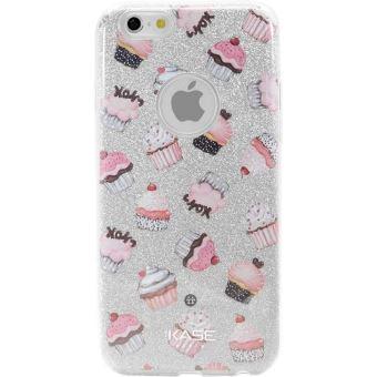 Coque The Kase Slim Pailletee Etincelante pour iPhone 6 et 6s