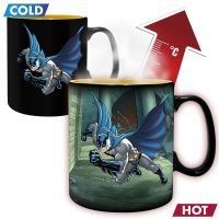DC COMICS-MUG HEAT CHANGE 460 ML-BATMAN AND JOKER