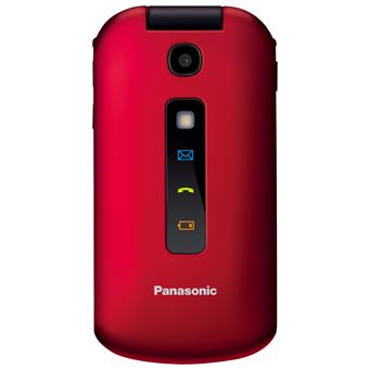 Panasonic KX-TU329 - rouge - GSM - téléphone mobile