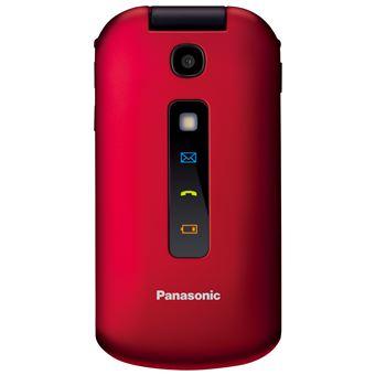 Téléphone mobile Panasonic KX-TU329 Rouge