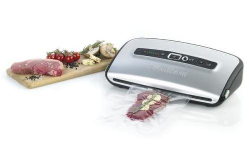Machine sous vide FoodSaver® FFS004X avec compartiment pour rouleau Grise