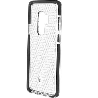FORCE CASE COVER NEW LIFE GALAXY S9+ TRANSPARENT BLACK
