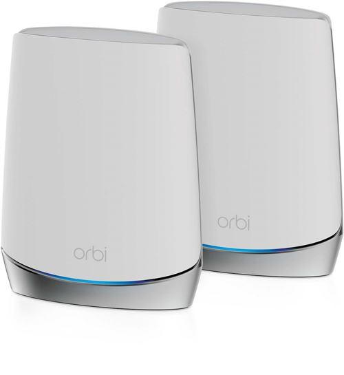 Netgear Orbi WiFi 6 AX4200 routeur + 1 satellite (RBK752-100EUS)