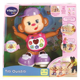 Jouet Interactif Vtech Baby Titi Ouistiti Rose