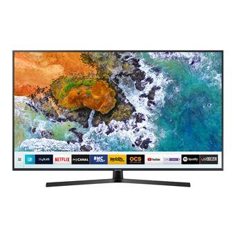 5 sur tv samsung ue50nu7405 uhd 4k 50 t l viseur lcd 44 55 achat prix fnac. Black Bedroom Furniture Sets. Home Design Ideas