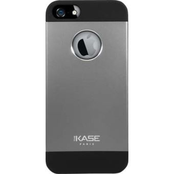 Coque The Kase Aluminium Ultra Slim Gris sideral pour iPhone 5 5s et SE