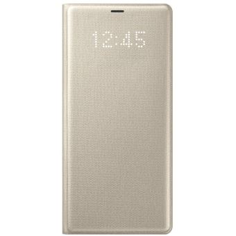 SAMSUNG GALAXY NOTE 8 LED VIEW COVER GOLD