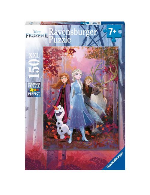 Puzzle 150 pièces XXL Ravensburger Disney La Reine des Neiges 2 Une aventure fantastique