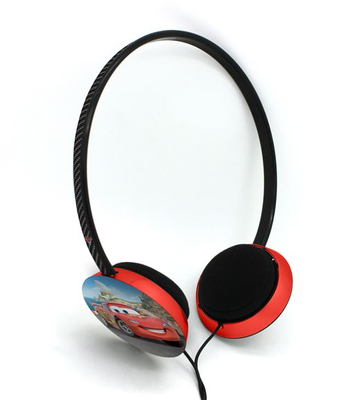 Casque audio enfant Disney DSY-HP731 Cars Noir et Rouge