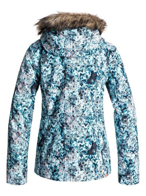 capuche M clair Roxy Jet Ski Veste Femme Bleu de snow Taille à LMqzVUpGS