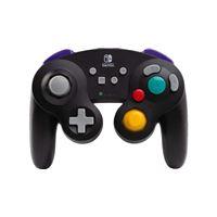 Manette Nintendo Switch Bd&A GameCube sans fil Noir