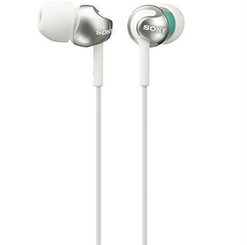 Ecouteurs Sony MDR-EX110AP Blanc