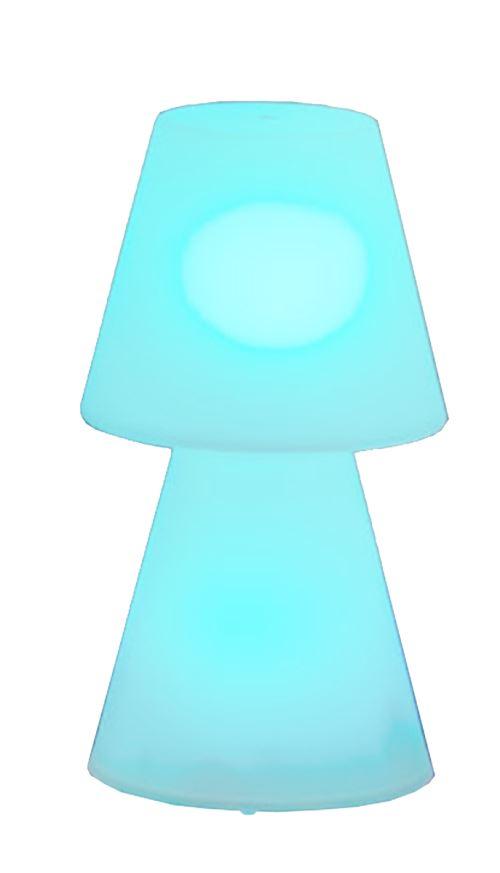 Une lampe à pose original autonome
