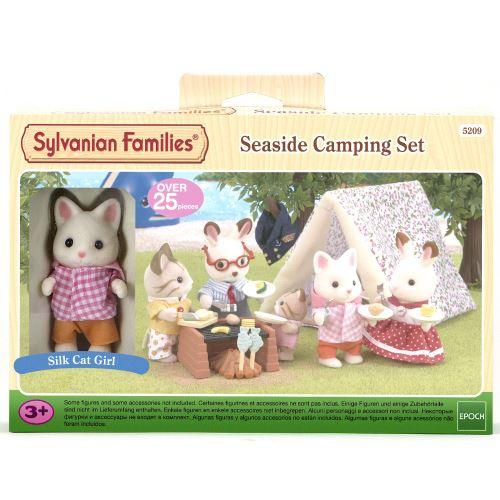 Figurine Epoch D'enfance Set camping de bord de mer