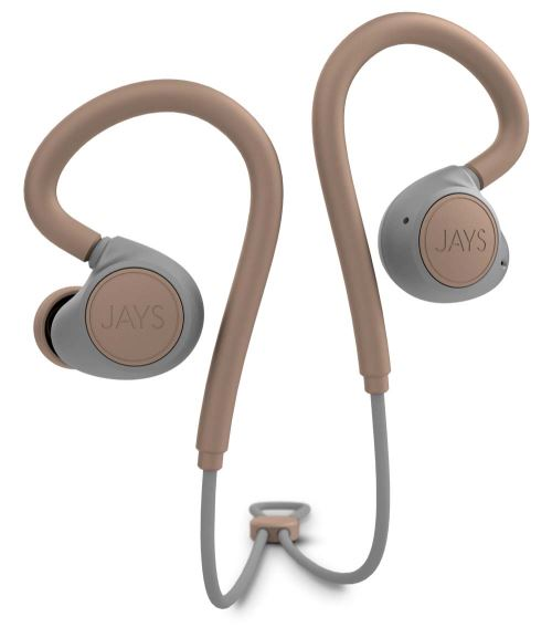 Ecouteurs intra-auriculaires Jays m-Six Bluetooth Beige