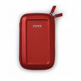 PORT DESIGNS COLORADO SHOCK HDD CASE RED