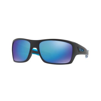 Lunettes de soleil Oakley Turbine Noire et bleue
