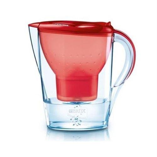 Carafe filtrante Brita Marella Rouge avec 2 cartouches