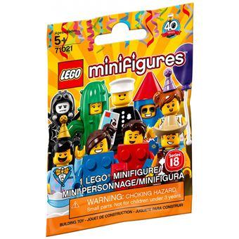 LEGO® Minifigures 71021 Séries 18 Modèle aléatoire