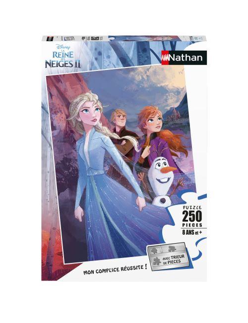 Puzzle 250 pièces Nathan Prêts pour l'aventure Disney La Reine des Neiges 2