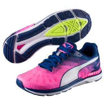 free shipping 0e7cd a7e46 Chaussures de running Femme Puma Speed 300 Ignite Roses et Bleu marine Taille  40
