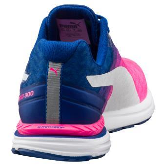 promo code f5b79 bb58a Chaussures de running Femme Puma Speed 300 Ignite Roses et Bleu marine Taille  40 - Chaussures ou chaussons de sport - Equipements sportifs   fnac