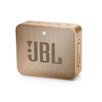 5 sur mini enceinte portable jbl go 2 bluetooth champagne mini enceinte achat prix fnac. Black Bedroom Furniture Sets. Home Design Ideas
