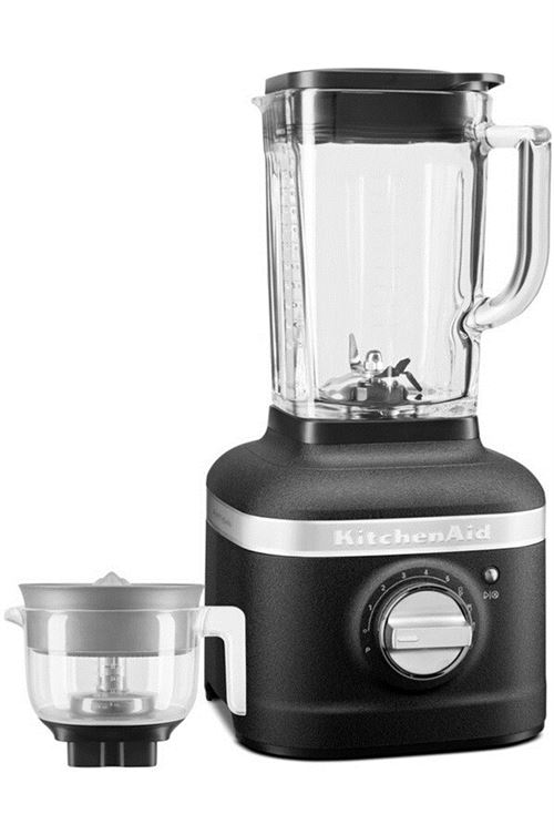 Blender KitchenAid Artisan 5KSB4054EBK avec presse-agrumes 1200 W Noir