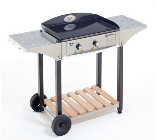Ensemble Plancha électrique Roller Grill EPC600E 3500 W Argent et Noir