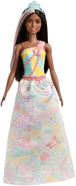 Poupée Barbie Dreamtopia Princesse Cheveux bruns - Poupée. Achat et vente de jouets, jeux de société, produits de puériculture. Découvrez les Univers Playmobil, Légo, FisherPrice, Vtech ainsi que les grandes marques de puériculture : Chicco, Bébé Confort,