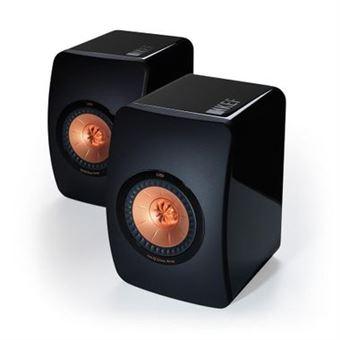 KEF LS50 - Enceintes monitoring - Noir