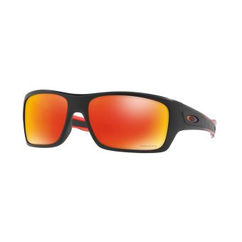 ... Lunettes de soleil Oakley Turbine™ Ruby Fade Collection Noires et  rouges ... 78219e6f4054