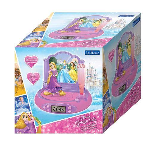 Réveil projecteur Lexibook Disney Princesses