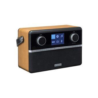 Radio Internet Bluetooth FM/DAB/DAB+ Robers Stream 94i Noir et bois