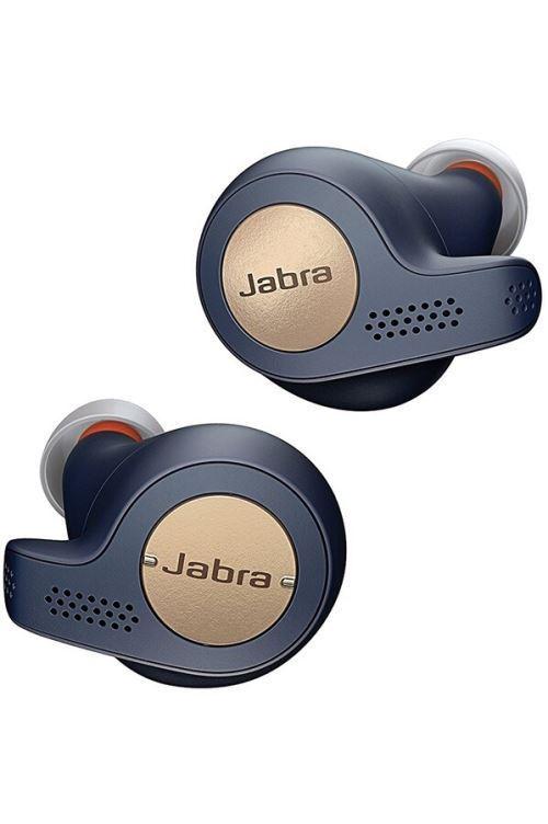 Ecouteurs sans fil Jabra Elite Active65t Bleu et or
