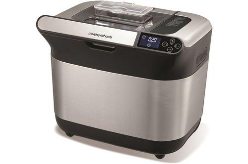 Machine à pain Morphy Richards Premium Plus M502000EE 600 W Gris et Noir