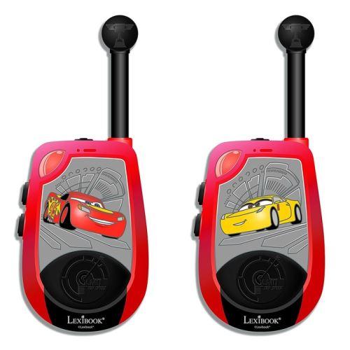Pack de 2 Talkies Walkies 3D Lexibook Disney Cars 3 2 km