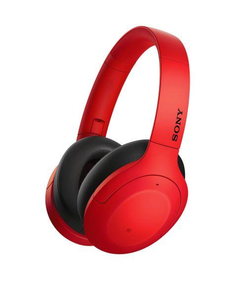 Casque Sony sans fil WHH910NR.CE7 Rouge
