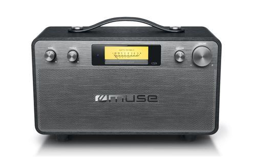 Enceinte sans fil Bluetooth Muse M-670 BT Gris