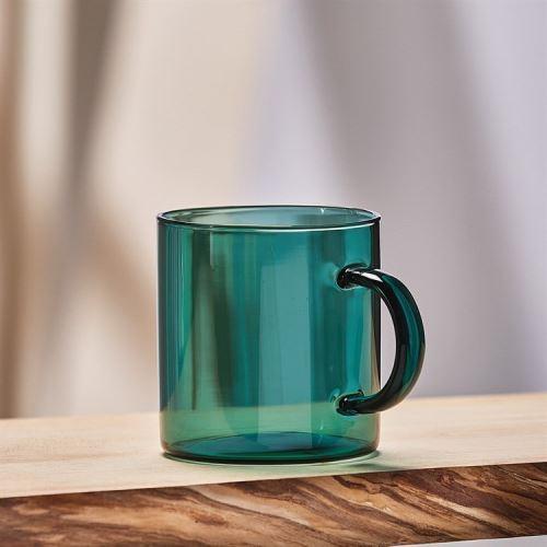 Tasse en verre Lijoki Vert 450 ml