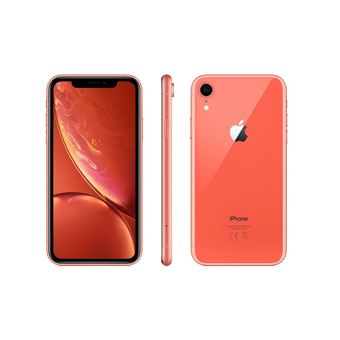 Apple Iphone Xr 64 Go 6 1 Corail Smartphone Achat Prix Fnac
