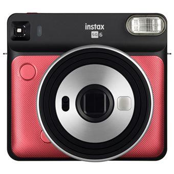 Fuji Instax SQ6 Polaroid Camera Ruby Red