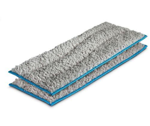 Set de 2 lingettes réutilisables pour lavage des sols Irobot pour Bravaava Jet M6