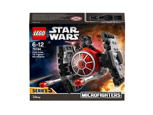 LEGO® Star Wars™ 75194 Microfighter Chasseur TIE du Premier Ordre™